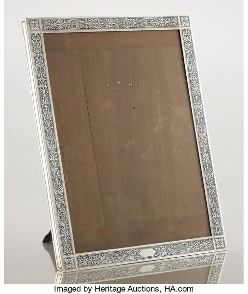 An American Silver Picture Frame Tiffany Co New York Lot
