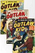 Silver Age (1956-1969):Western, Outlaw Kid Group (Atlas, 1955-57).... (Total: 10 Comic Books)