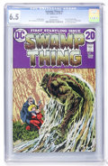 Bronze Age (1970-1979):Horror, Swamp Thing #1 (DC, 1972) CGC FN+ 6.5 White pages....