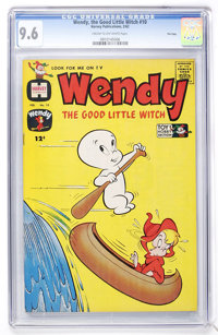 Wendy, the Good Little Witch #10 File Copy (Harvey, 1962) CGC NM+ 9.6 Cream to off-white pages