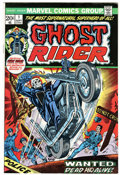 Bronze Age (1970-1979):Horror, Ghost Rider #1 (Marvel, 1973) Condition: VF+....