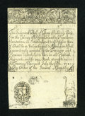 Colonial Notes:Rhode Island, Rhode Island July 5, 1715 Cohen Reprint Redated 1737 3s ExtremelyFine-About New....