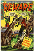 Golden Age (1938-1955):Horror, Beware #8 (Trojan, 1954) Condition: VG/FN....