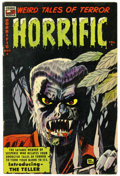 Golden Age (1938-1955):Horror, Horrific #8 (Comic Media, 1953) Condition: FN/VF....