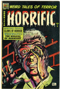 Golden Age (1938-1955):Horror, Horrific #9 (Comic Media, 1954) Condition: FN....