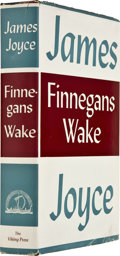 Books:First Editions, James Joyce. Finnegans Wake. New York: The Viking Press,1939....