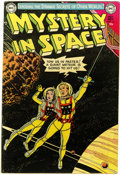 Golden Age (1938-1955):Science Fiction, Mystery in Space #16 (DC, 1953) Condition: FN....