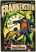 Golden Age (1938-1955):Horror, Frankenstein Comics #33 (Prize, 1954) Condition: FN+....