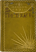 Books:First Editions, Frances Parkman, with illustrations by Frederic Remington. TheOregon Trail, Sketches of Prairie and Rocky-M...