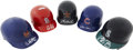Autographs:Others, Mini Helmets Signed By Nine Baseball Stars. ... (Total: 9 items)