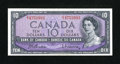 Canadian Currency: , BC-40b $10 1954.. ...