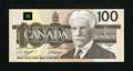 Canadian Currency: , BC-60d $100 1988.. ...