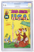 Bronze Age (1970-1979):Humor, Sad Sack USA #3 File Copy (Harvey, 1973) CGC NM+ 9.6 Off-white towhite pages....