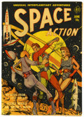 Golden Age (1938-1955):Science Fiction, Space Action #1 (Ace, 1952) Condition: VG+....