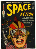 Golden Age (1938-1955):Science Fiction, Space Action #2 (Ace, 1952) Condition: VG-....