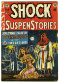Golden Age (1938-1955):Horror, Shock SuspenStories #6 (EC, 1952) Condition: GD+....