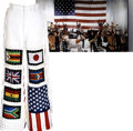 Music Memorabilia:Costumes, Verdine White Stage-Worn Pants....