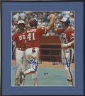 Autographs:Others, 1984 Olympic Baseball Signed Photo, McGwire, Clark, Snyder. ...