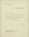 Autographs:U.S. Presidents, Calvin Coolidge Typed Letter Signed... (Total: 2 Items)