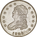 Patterns, 1827 25C Quarter Dollar, Judd-48, Pollock-49, High R.7, PR63Silver-Plated NGC....