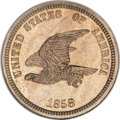 Patterns, 1858 P1C Flying Eagle Cent, Judd-203, Pollock-247, R.5, PR64NGC....