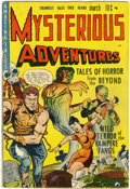 Golden Age (1938-1955):Horror, Mysterious Adventures #1 (Story Comics, 1951) Condition: VG....