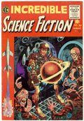 Golden Age (1938-1955):Horror, Incredible Science Fiction #30 (EC, 1955) Condition: FN-....