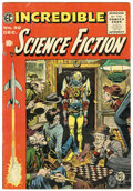 Golden Age (1938-1955):Science Fiction, Incredible Science Fiction #32 (EC, 1955) Condition: FN+....