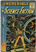 Golden Age (1938-1955):Science Fiction, Incredible Science Fiction #33 (EC, 1956) Condition: VG....