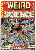 Golden Age (1938-1955):Science Fiction, Weird Science #12 (EC, 1952) Condition: VG+....