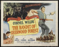 "Movie Posters:Adventure, The Bandit of Sherwood Forest (Columbia, 1946). Half Sheet (22"" X28""). Adventure. Starring Cornel Wilde, Anita Louise, Jill..."
