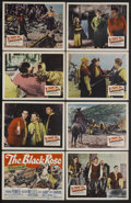 "Movie Posters:Adventure, The Black Rose (20th Century Fox, 1950). Lobby Card Set of 8 (11"" X14""). Adventure. Starring Tyrone Power, Orson Welles, Ce... (Total:8)"
