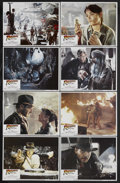 """Movie Posters:Adventure, Raiders of the Lost Ark (Paramount, 1981). Lobby Card Set of 8 (11""""X 14""""). Adventure. Starring Harrison Ford, Karen Allen, ... (Total:8)"""