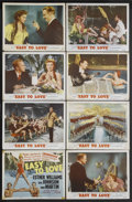 "Movie Posters:Musical, Easy to Love (MGM, 1953). Lobby Card Set of 8 (11"" X 14""). Musical. Starring Esther Williams, Van Johnson, Tony Martin, John... (Total: 8)"