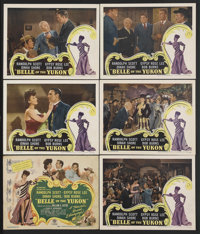 "Belle of the Yukon (RKO, 1944). Title Lobby Card and Lobby Cards (5) (11"" X 14""). Musical Comedy. Starring Ran..."