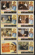 """Movie Posters:Drama, The Bells of St. Mary's (RKO, 1945). Lobby Card Set of 8 (11"""" X 14""""). Drama. Starring Bing Crosby, Ingrid Bergman, Henry Tra... (Total: 8 Items)"""