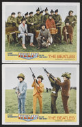 "Movie Posters:Rock and Roll, Help! (United Artists, 1965). Lobby Cards (2) (11"" X 14""). MusicalComedy. Starring The Beatles (John Lennon, Paul McCartney...(Total: 2)"