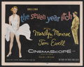 """Movie Posters:Comedy, The Seven Year Itch (20th Century Fox, 1955). Title Lobby Card (11""""X 14""""). The film was based on the successful Broadway pl..."""