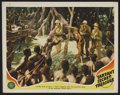 "Movie Posters:Adventure, Tarzan's Secret Treasure (MGM, 1941). Lobby Card (11"" X 14"").Adventure. Starring Johnny Weissmuller, Maureen O'Sullivan, Jo..."
