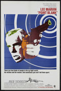 """Movie Posters:Crime, Point Blank (MGM, 1967). One Sheet (27"""" X 41""""). Crime. Starring LeeMarvin, Angie Dickinson, Keenan Wynn and Carroll O'Conno..."""