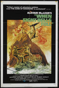 "Movie Posters:Mystery, When Eight Bells Toll (Cinerama Releasing, 1971). One Sheet (27"" X41""). Action Adventure. Starring Anthony Hopkins, Nathali..."