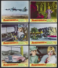 "Movie Posters:Science Fiction, Thunderbirds Are Go (United Artists, 1968). Lobby Cards (6) (11"" X14""). Science Fiction Marionette Animation. Starring the ...(Total: 6)"