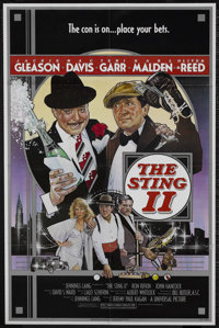 "The Sting II (Universal, 1983). One Sheet (27"" X 41""). Crime Comedy. Starring Jackie Gleason, Mac Davis, Teri..."