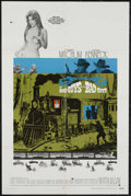 """Movie Posters:Western, The Good Guys and the Bad Guys (Warner Brothers, 1969). One Sheet (27"""" X 41""""). Comedy Western. Starring Robert Mitchum, Geor..."""