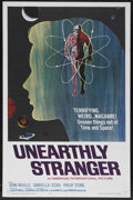 "Movie Posters:Science Fiction, Unearthly Stranger (American International, 1963). One Sheet (27"" X41""). Science Fiction. Starring John Neville, Gabriella ..."