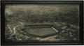 Baseball Collectibles:Others, 1929 Texas League Championship Photograph from Plane. Brilliantimage taken via plane of Wichita Falls' Athletic Park, whic...