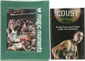 Basketball Collectibles:Others, Basketball Stars Signed Hardcover Books Lot of 2. Pair of NRMTvolumes, each complete with dust jacket, feature autographs ...
