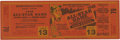 Baseball Collectibles:Tickets, 1948 All-Star Game Full Ticket. Full ticket in splendid conditionfrom the 1948 edition of Major League's All-Star Game. Pl...