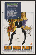 "Movie Posters:Adventure, Our Man Flint (20th Century Fox, 1966). One Sheet (27"" X 41""). SpyAdventure. Starring James Coburn, Lee J. Cobb, Gila Golan..."