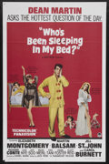 "Movie Posters:Comedy, Who's Been Sleeping in My Bed? (Paramount, 1963). One Sheet (27"" X 41""). Comedy. Starring Dean Martin, Elizabeth Montgomery,..."